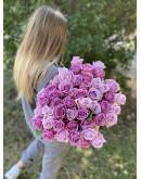 Лавандовая Роза 60 см