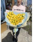 31 солнечная Роза в стильной упаковке
