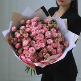 кустовые, пионовидные розы