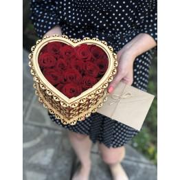 шкатулка с розами