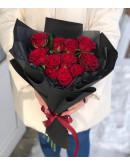 Валентинка из роз