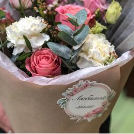 сборный букетик с розами