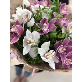 букет орхидей микс